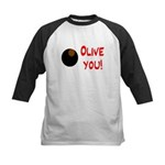 OLIVE YOU Kids Baseball Jersey