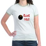 OLIVE YOU Jr. Ringer T-Shirt