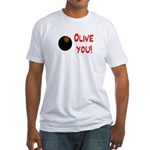 OLIVE YOU Fitted T-Shirt