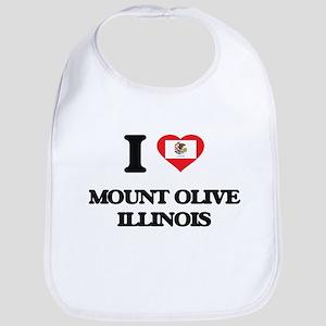 I love Mount Olive Illinois Bib
