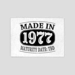 Made in 1977 - Maturity Date TDB 5'x7'Area Rug