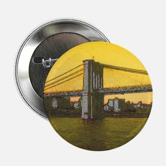 """Retro Brooklyn Bridge Maje 2.25"""" Button (100 pack)"""