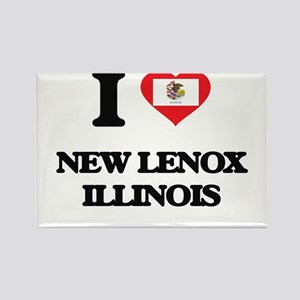 I love New Lenox Illinois Magnets
