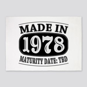 Made in 1978 - Maturity Date TDB 5'x7'Area Rug
