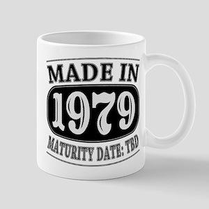 Made in 1979 - Maturity Date TDB Mug