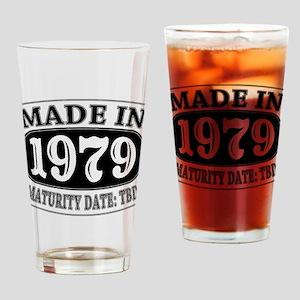 Made in 1979 - Maturity Date TDB Drinking Glass