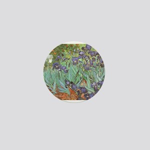 Van Gogh Irises, Vintage Pos Mini Button (10 pack)
