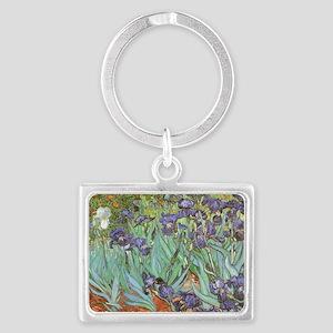 Van Gogh Irises, Vintage Post Impression Keychains