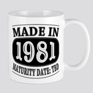 Made in 1981 - Maturity Date TDB Mug