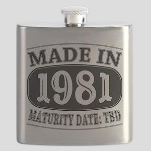 Made in 1981 - Maturity Date TDB Flask