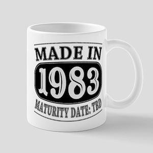 Made in 1983 - Maturity Date TDB Mug