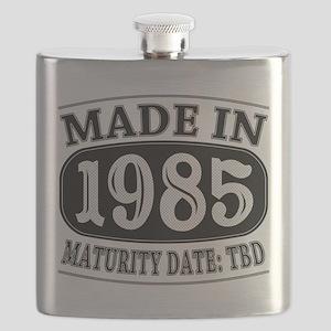 Made in 1985 - Maturity Date TDB Flask