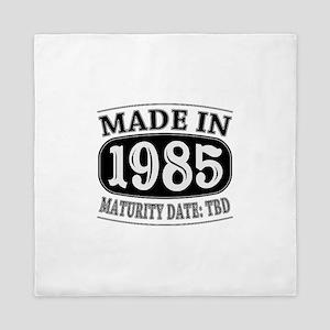 Made in 1985 - Maturity Date TDB Queen Duvet