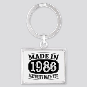 Made in 1986 - Maturity Date TD Landscape Keychain