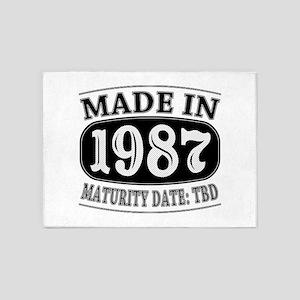 Made in 1987 - Maturity Date TDB 5'x7'Area Rug