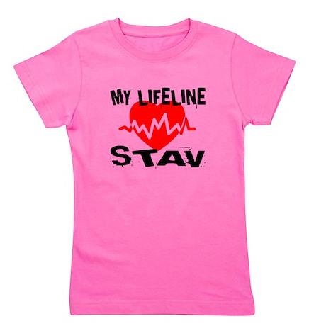 My Life Line Stav Girl's Tee