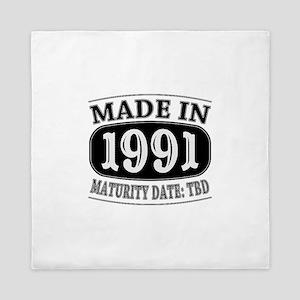 Made in 1991 - Maturity Date TDB Queen Duvet