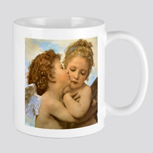 First Kiss by Bouguereau Mugs