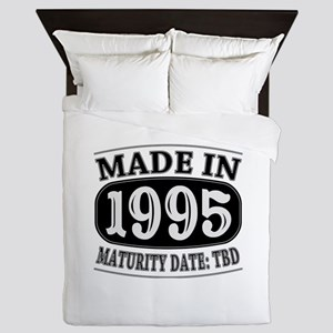 Made in 1995 - Maturity Date TDB Queen Duvet
