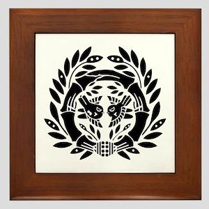 Date Masamune Framed Tile