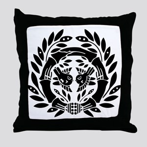 Date Masamune Throw Pillow