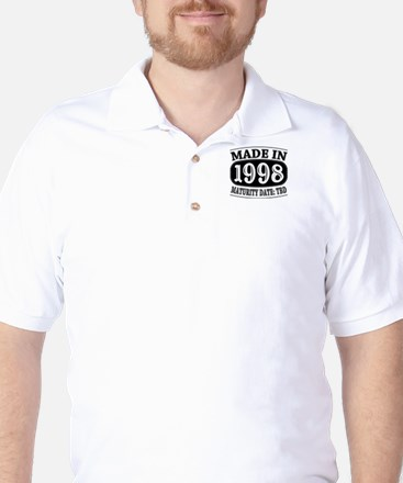 Made in 1998 - Maturity Date TDB Golf Shirt