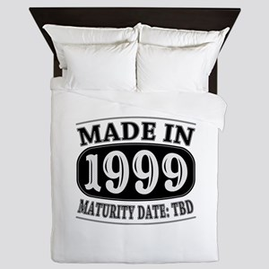 Made in 1999 - Maturity Date TDB Queen Duvet