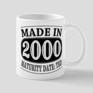 Made in 2000 - Maturity Date TDB Mug