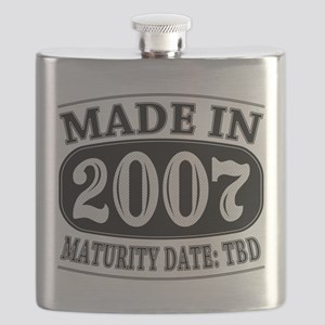 Made in 2007 - Maturity Date TDB Flask