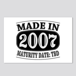 Made in 2007 - Maturity D Postcards (Package of 8)