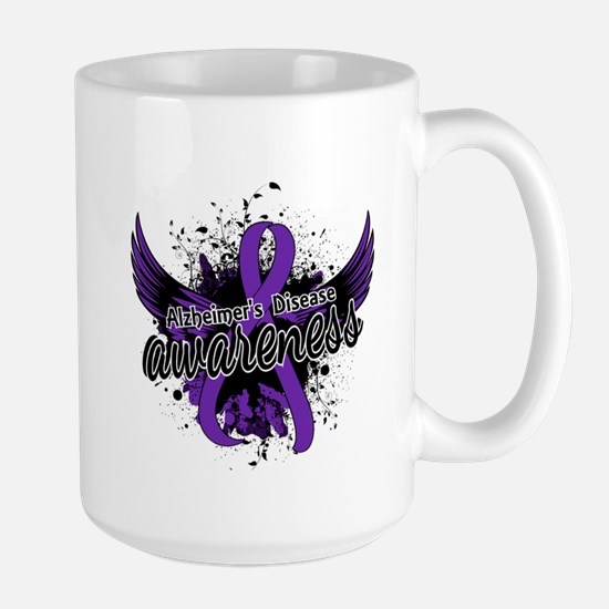 Alzheimer's Awareness 16 Large Mug