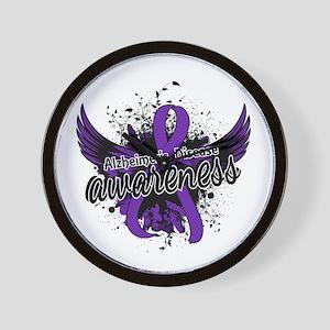 Alzheimer's Awareness 16 Wall Clock