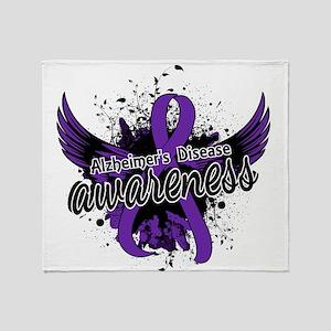 Alzheimer's Awareness 16 Throw Blanket