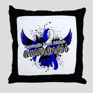ALS Awareness 16 Throw Pillow