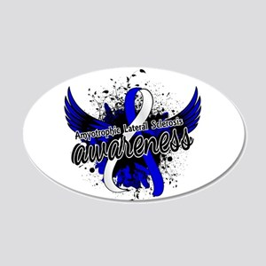 ALS Awareness 16 20x12 Oval Wall Decal