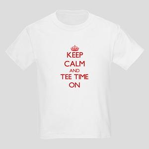 Keep Calm and Tee Time ON T-Shirt