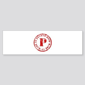 Made in Puerto Rico Bumper Sticker