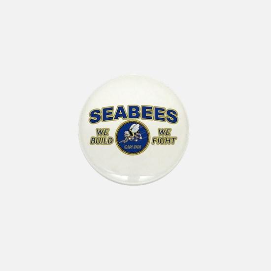 Cool Seabees Mini Button