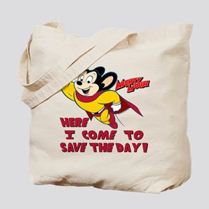 Mighty Mouse Save Tote Bag