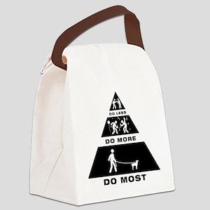 Mountain Feist Canvas Lunch Bag