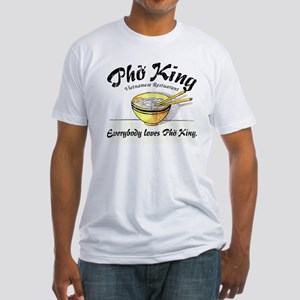 Everybody Loves Pho King Fitted T-Shirt
