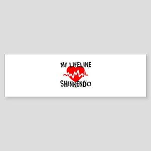 My Life Line Shinkendo Sticker (Bumper)