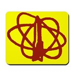 Library SF Genre Label Mousepad