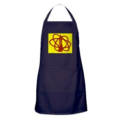 Library SF Genre Label Apron (dark)