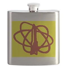 Library SF Genre Label Flask