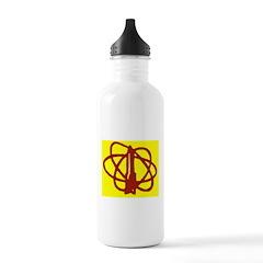Library SF Genre Label Water Bottle