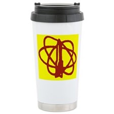 Library SF Genre Label Travel Mug