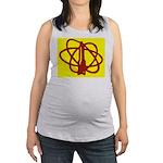 Library SF Genre Label Maternity Tank Top