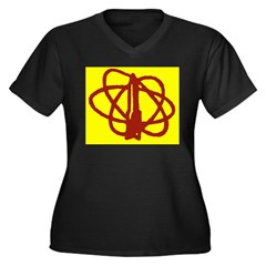 Library SF Genre Label Plus Size T-Shirt