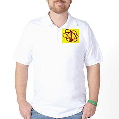 Library SF Genre Label Golf Shirt
